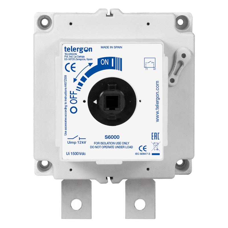 Изолирующий рубильник постоянного тока S6 DC 630A 1P