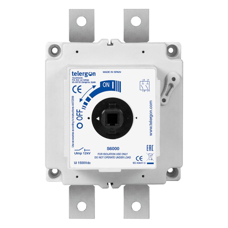 Изолирующий рубильник постоянного тока S6 DC 630A 2P
