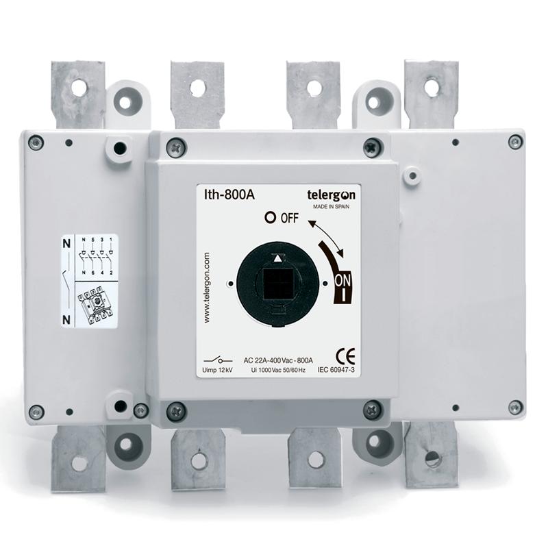 Выключатель нагрузки S5 800A 3P+N