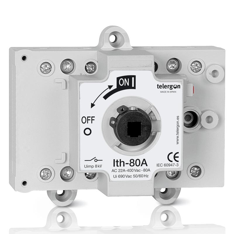Выключатель нагрузки S5 80A 3P+N